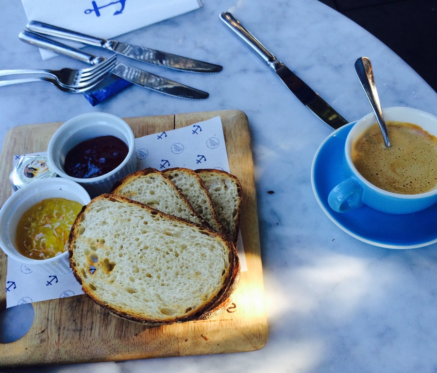 Drew Brown Landscapes - The Boathouse Palm Beach Sydney breakfast