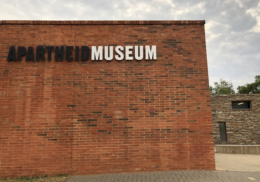 The Apartheid Museum Johannesburg South Africa